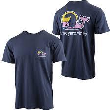 Vineyard Vines University Of Michigan Football Navy Football