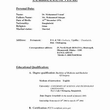 Old Fashioned Indian Normal Resume Format Word Festooning