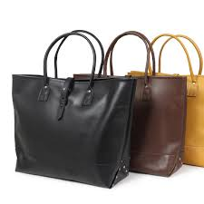 heritage leather heritage leather moccasins leather tote bag all three colors made in usa