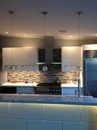 white kitchen light layering 2