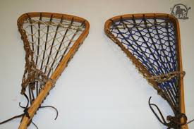 for the longest time most of the sticks you saw on the field during women s and girls lacrosse were made of wood just like in the men s game