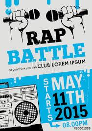 flyer rap free rap battle concert hip hop music template design flyer poster