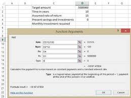 Diy Mutual Fund Tools Sip Calculator In Excel Sip Is The