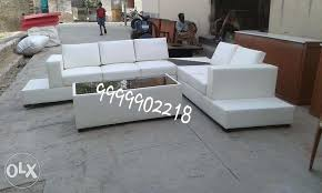 mark as favorite show only image l shape sofa set with center corner table