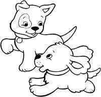 Disegni Da Stampare E Colorare Degli Amici Cucciolotti Amici