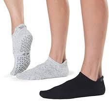 Grip Barre Dance Yoga Socks Tavi Noir Womens Savvy Non Slip Socks 2 Pack