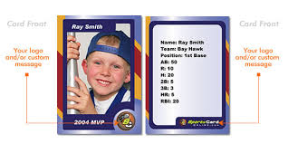 custom baseball cards siteprint com custom trading card maker