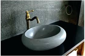natural stone vessel sinks vessel sink stone round natural stone black vessel sinks bathroom sinks stone