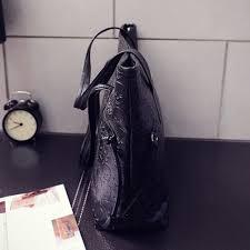 leather skull tote shoulder bag leather skull tote shoulder bag