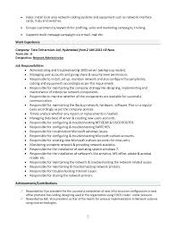 Resume Format Usa Adorable Sample Usar Unit Administrator Resume System Admin Resume Co Resume