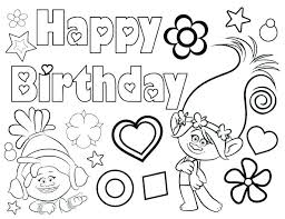 Birthday Colouring Pages Happy Birthday Nana Coloring Pages Birthday