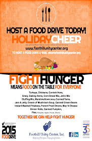 Food Drive Posters Holidays Are Coming Host A Food Drive Foothill Unity