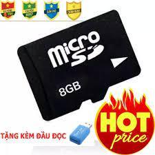 thẻ nhớ 8gb - thẻ nhớ cho điện thoại, camera - thẻ nhớ chính hãng - giá cực  rẻ