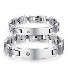 manufacturer china bio x power energy magnetic bracelet men whole snless steel jewelry