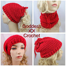 Ponytail Hat Knitting Pattern Inspiration Ravelry Ponytail Hat Neckwarmer Pattern By Goddess Crochet