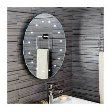 Illuminated Bathroom Mirrors Battery Powered Plumbworld