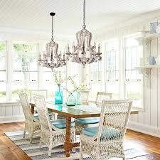 distressed white chandelier antique 5 lights wooden candle chandelier distressed white
