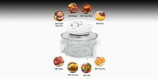 halogen convection oven convection cooking to gourmet perfection