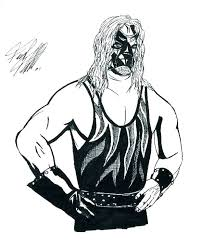 Free Wrestling Coloring Pages 28 Collection Of Wwe Kane Coloring