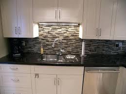 kitchen backsplash with black granite countertops black granite with glass tile kitchen for dark tile backsplash