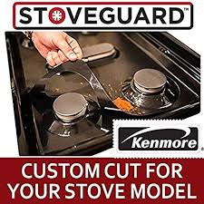 kenmore stove top. Brilliant Stove Kenmore Stove Protectors  Top Protector For Gas Ranges  Ultra Thin Easy Clean For 3
