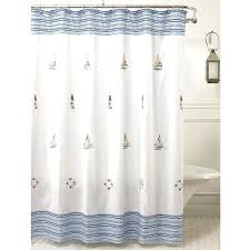 light house shower curtain image of nautical shower curtains and bath lighthouse shower curtain rings interior