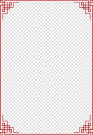 Rectangular Red Frame Illustration Window Icon Creative Carved