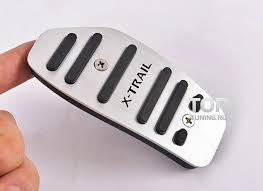 Накладки на педали TECH Design 2 шт. на Nissan X-Trail T32