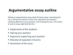 argumentative essay outline format sociology essay structure  argumentative essay outline format essay outline format language argument essay outline essay