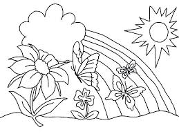 Coloring Pages Of Rose Flowers Roses And Colouring Flower Winning C