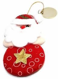 Gravierte Weihnachtsmann Father Christbaumschmuck Geschenk