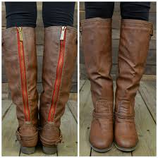 shoes riding boots tan boots red zipper boots boots tall boots brown leather boots tall