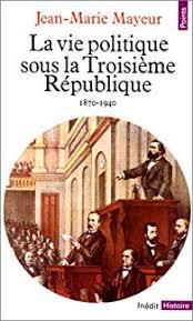vie politique sous la IIIème république