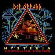Album Charts 2009 Def Leppards Fourth Album Hysteria Released In 1987
