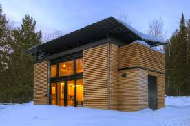 a small prefab house the e d g e experimental dwelling for a greener environment you