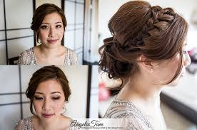 los angeles asian bride makeup artist natural blushing bride hair stylist updo chinon braid angela tam orange county 1 jpg