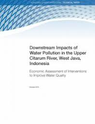 downstream impacts of water pollution in the upper citarum river downstream impacts of water pollution in the upper citarum river west java economic assessment of interventions to improve water quality