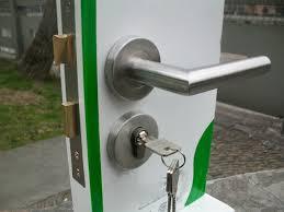 hot sell 19mm stainless steel door handle lwith cover door lock door handle lock set