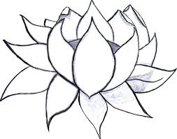 Coloring Printable Flowers To Color Flower Coloring Pages Easy Big