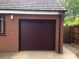 rosewood ral 8019 diy roller shutter garage door