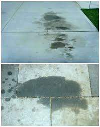 remove oil from driveway how to old stains 5 foolproof ways grease stain on pavers remo