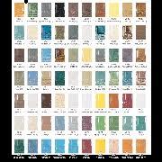 42 Inquisitive Spectrum Glaze Chart