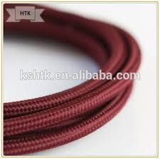 Fabric lighting cord Vintage Edison Bulb Lighting Cord Wire Fabric Cover Braided Core3 Core Round Lighting Cable Alibaba Edison Bulb Lighting Cord Wire Fabric Cover Braided Core3 Core