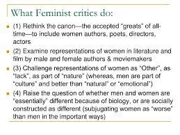Ppt Feminist Literary Criticism Powerpoint Presentation Id 4096463