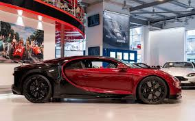 (the brake calipers are red), getting the shade right for the leather, the paint. Bugatti Chiron