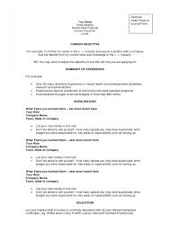 Career Objective Examples Template Design Job Change Sample ...