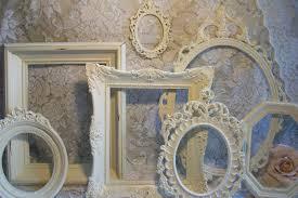 shabby chic frames white vintage gardenofchic