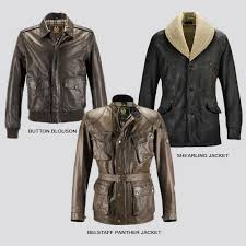 benjamin on motorcycle leather jackets