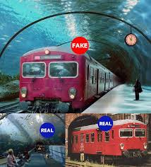 real underwater train. Underwater Train Tunnel In Venice, Italy? No, Photoshop. The \ Real