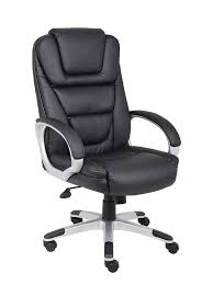 comfortable chair for office. Amazon.com: Boss Office Products B8601 High Back No Tools Required LeatherPlus Chair In Black: Kitchen \u0026 Dining Comfortable For H